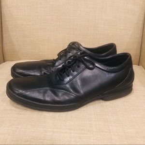 Kenneth Cole NY casual dress shoes black leather